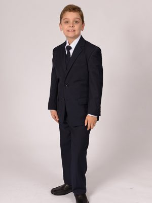 boys suit black