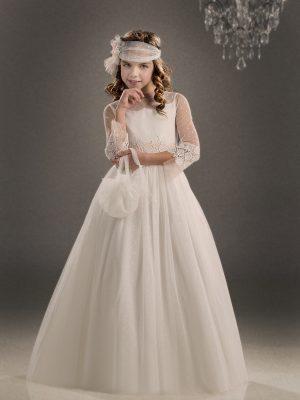 Design - H237 Marla Spanish holy communion gowns Australia Leichhardt
