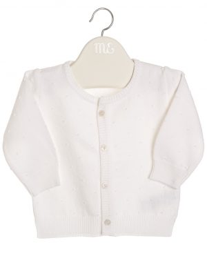 cardigan baby girl boy ivory little dream boutique