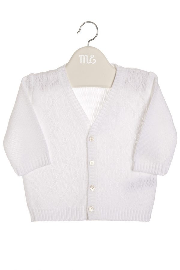 cardigan baby girl boy white little dream boutique