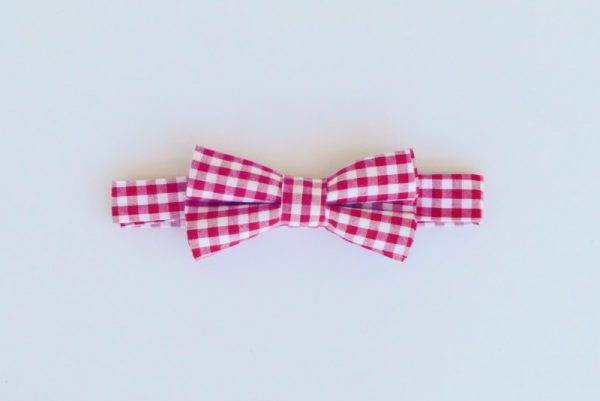 bow-ties-red-white-check-foxy-fellow
