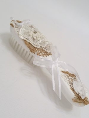 christening baptism baby hairbrush