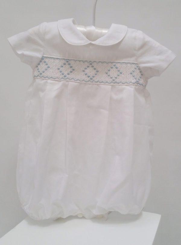 romper-white-smocking-christening-baptism - J J1240 (1)
