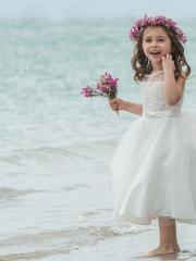 flowergirl-holycommunion-Ivory-dress