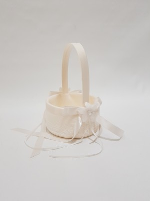 GKI-BSKT12IV $30ivory wedding basket (4)