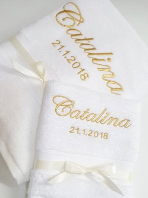 Christening Towels