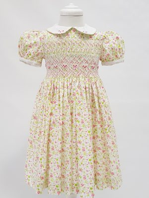 smocking - embrodery - girls-dresses