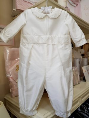 george-christening-silk-romper-littledream