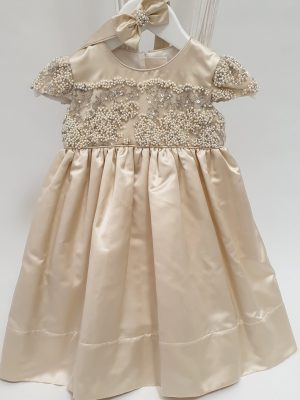 'Golden Luna' Special Occasion Girls Dress