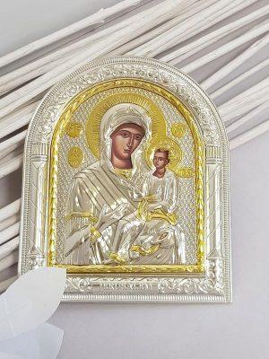 Mary-jesus-Icon-Silver-Gold -Little-Dream (1)
